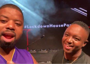 PH lockdown house party