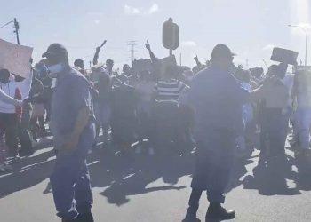 khayelitsha site b protests