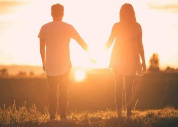suicide prevention - a couple holding hands